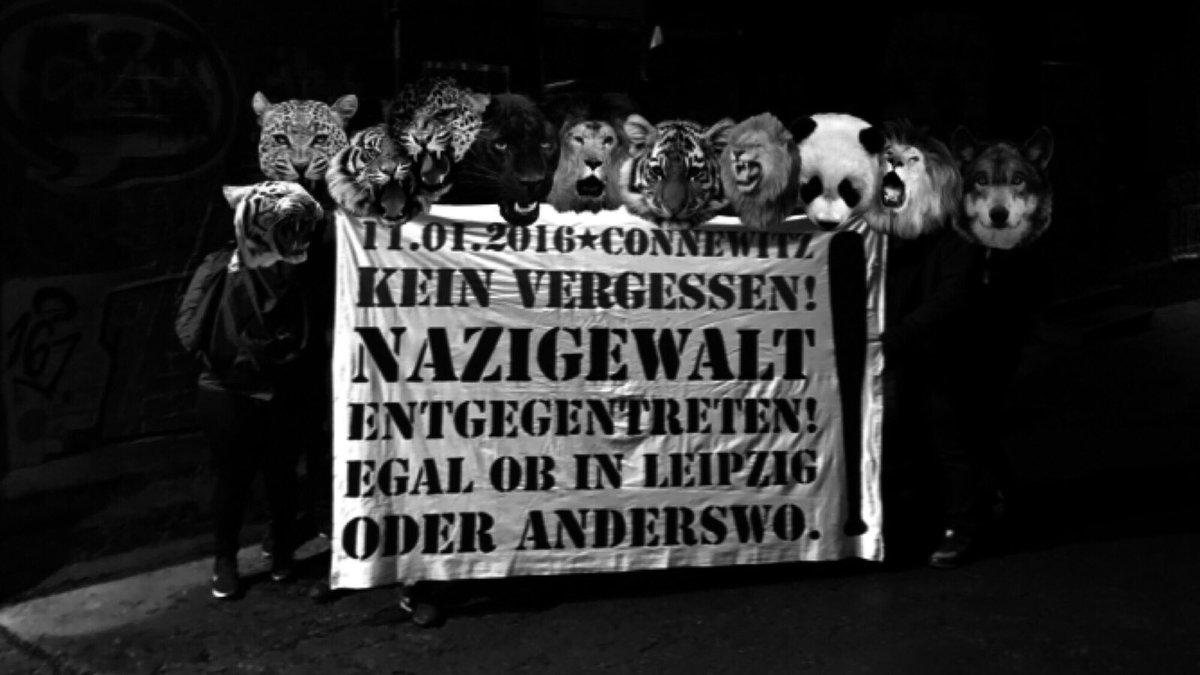 Antifa Soli fuer Connewitz