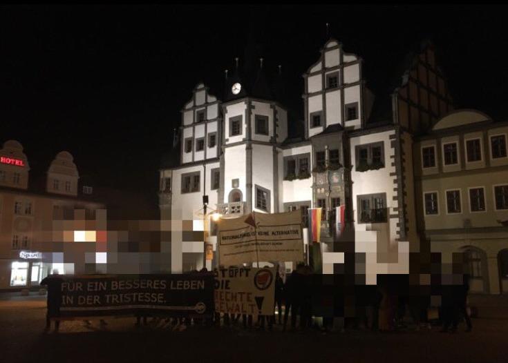 Sponti Saalfeld gegen AfD