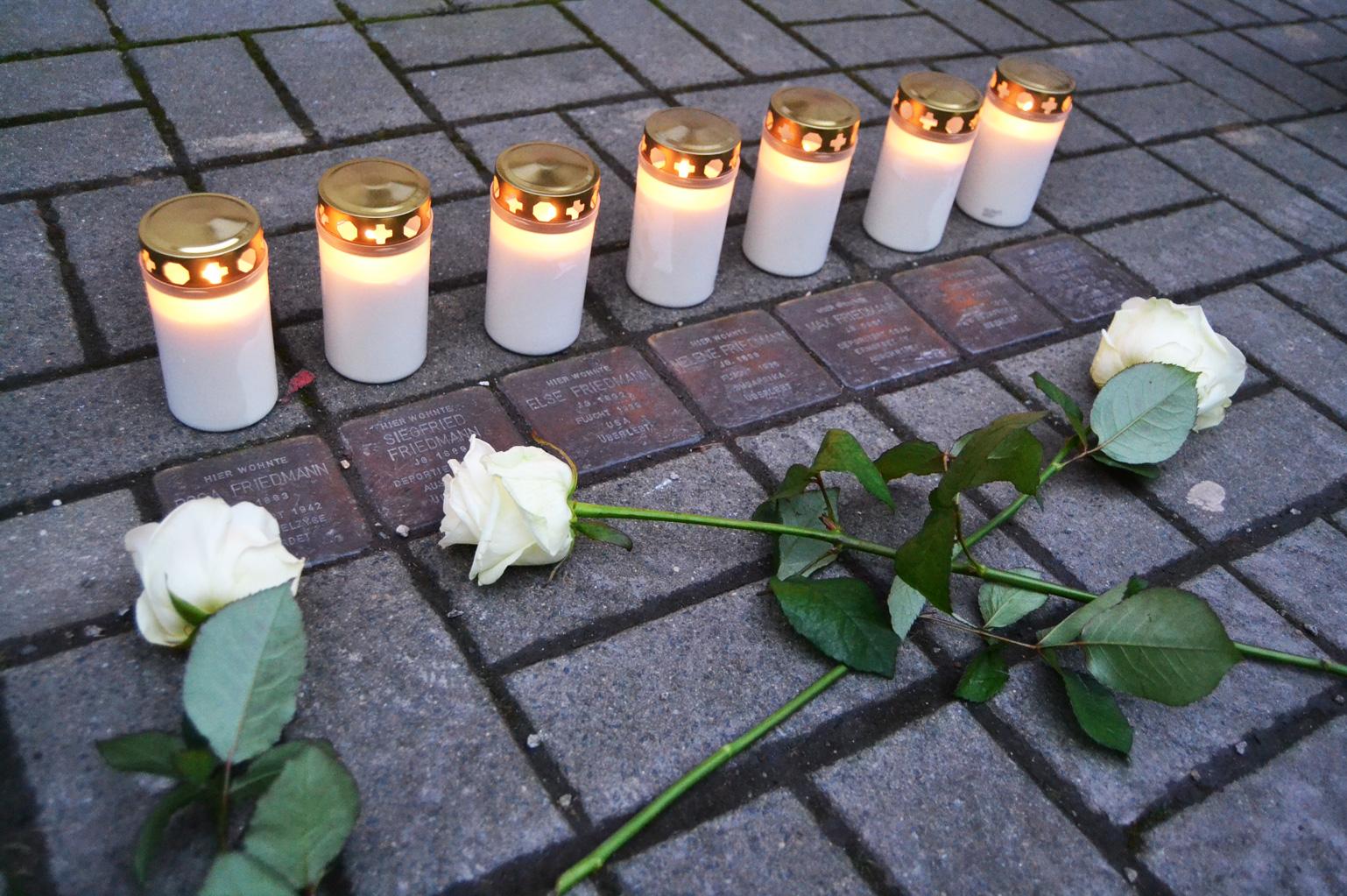 Holocaustgeedenken Lange Gasse Saalfeld